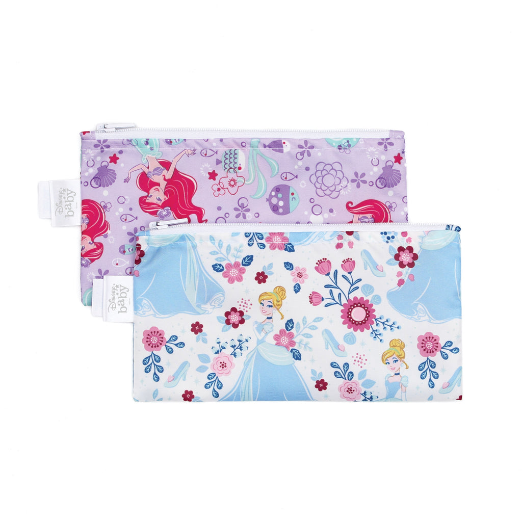 Disney Reusable Snack Bags 2-Pack, Small