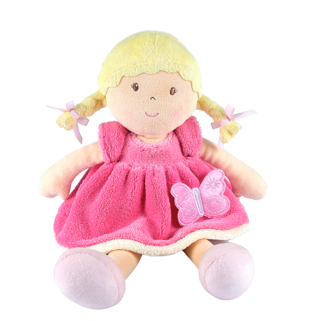 Ria - Butterfly Pink Soft Doll Bonikka