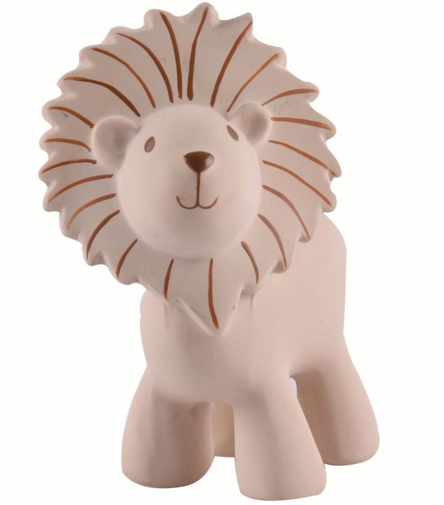Lion - My First Zoo Natural Rubber Toy