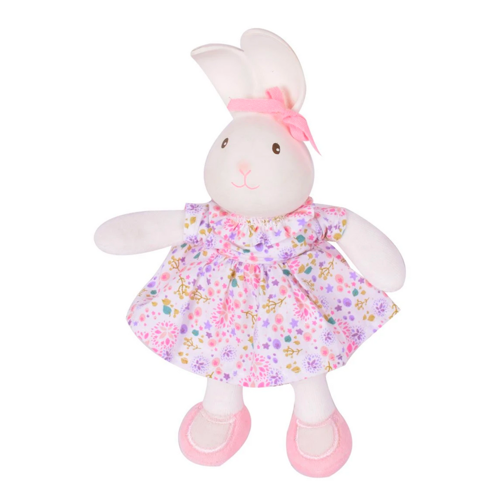 Havah the Bunny - Mini Rubber Head Plush Toy
