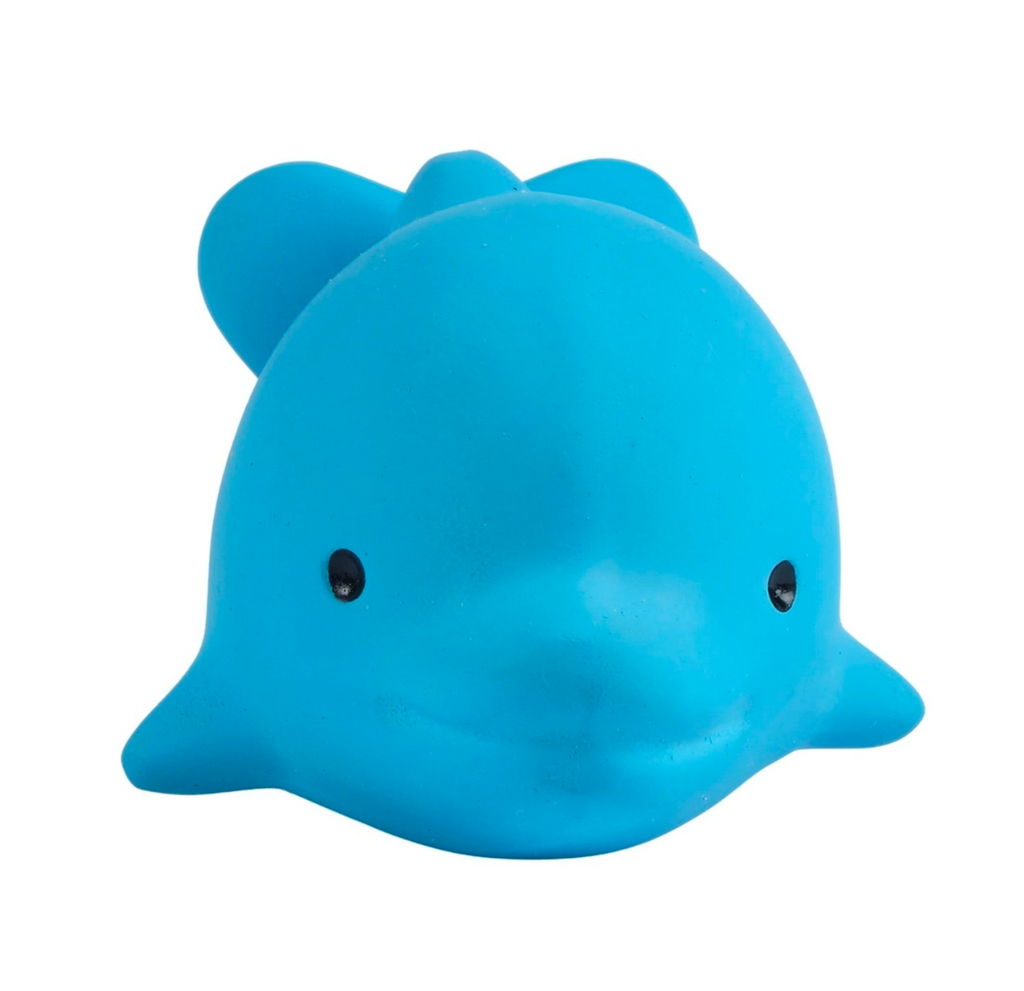Dolphin - Ocean Buddy Natural Rubber Toy