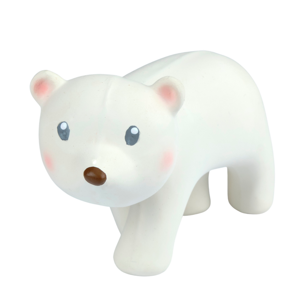 Polar Bear - Arctic Buddy Natural Rubber Toy