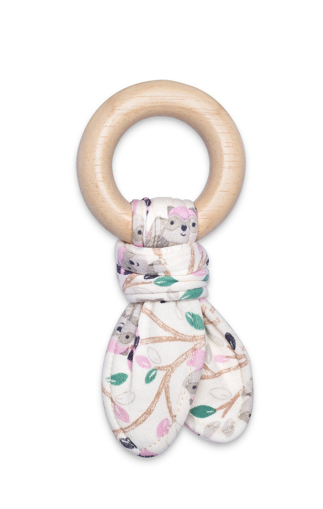Organic Fabric Teething Ring