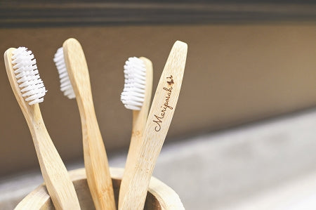 Mariposah Bamboo 4-Pack Toothbrushes