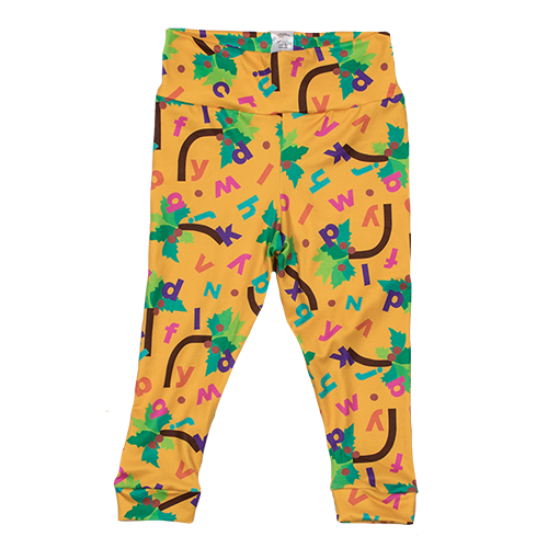 Bumblito Leggings - Chicka Chicka Boom Boom ABC's