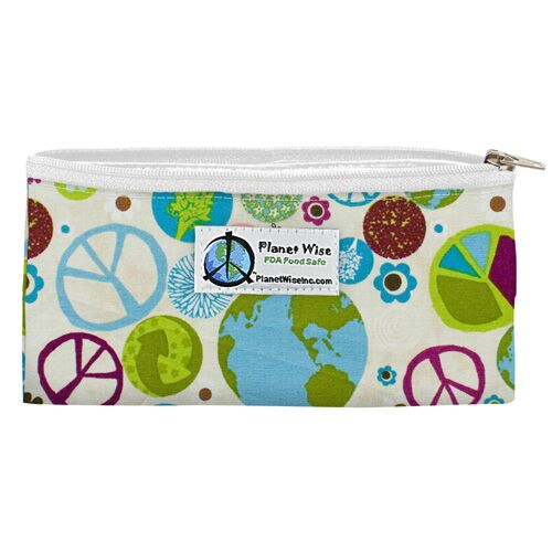 Planet Wise Zipper Snack Bags