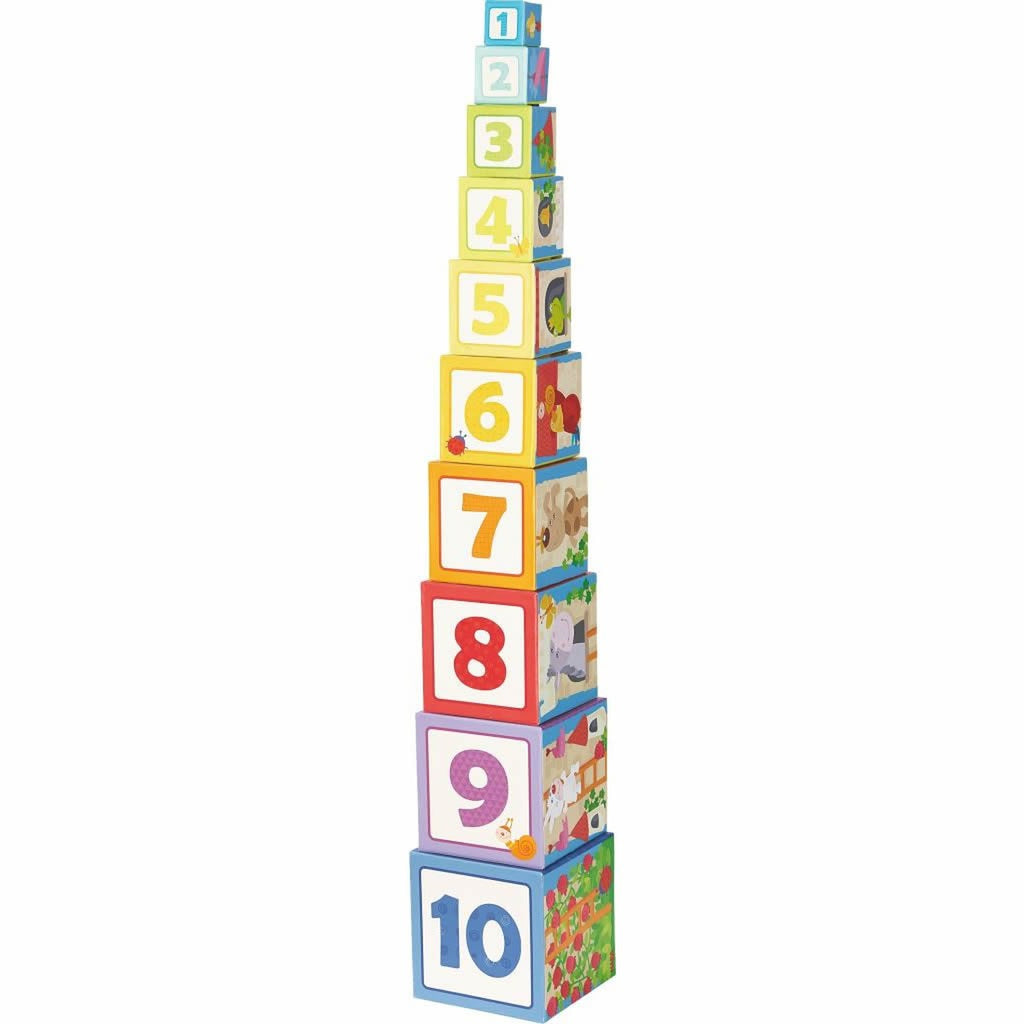 Stacking Cubes Rapunzel
