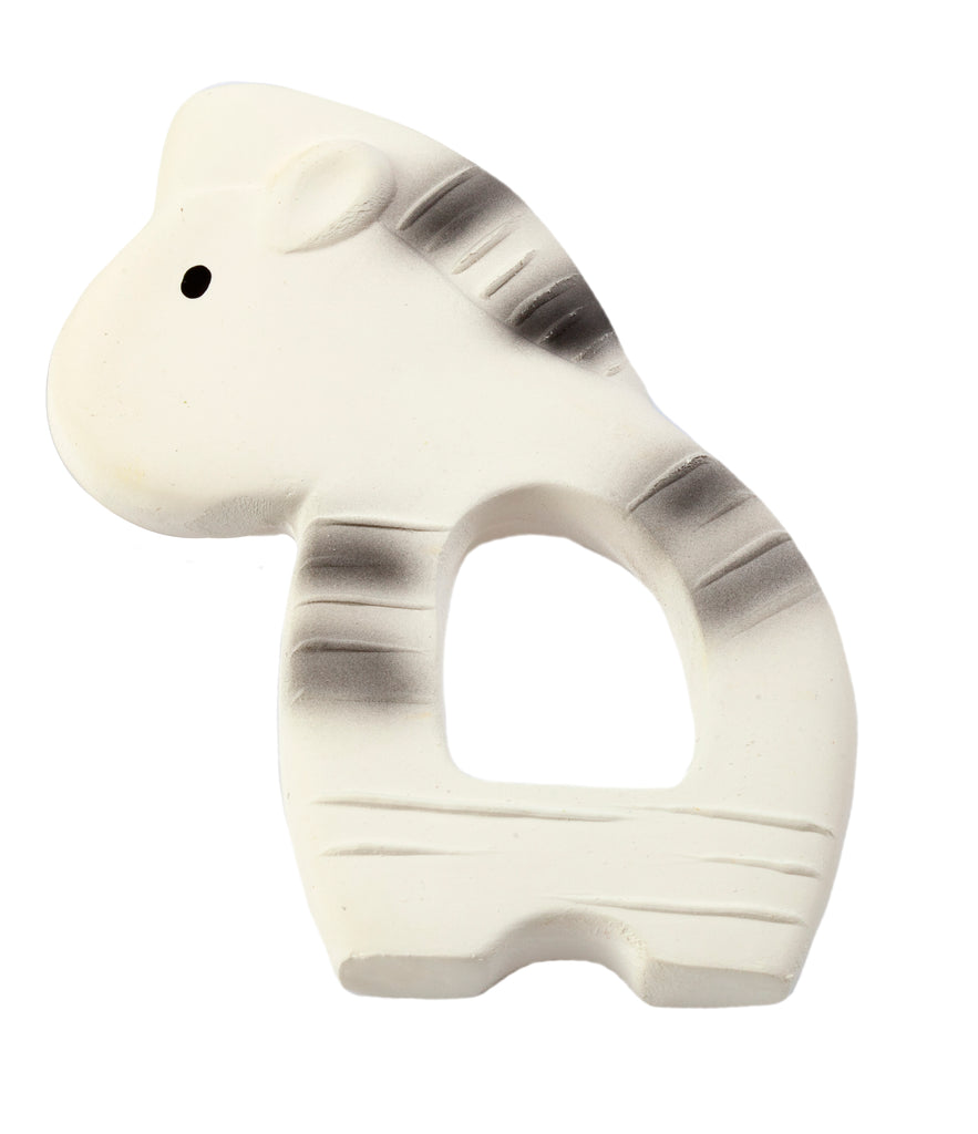 Zebra - Natural Rubber Teether