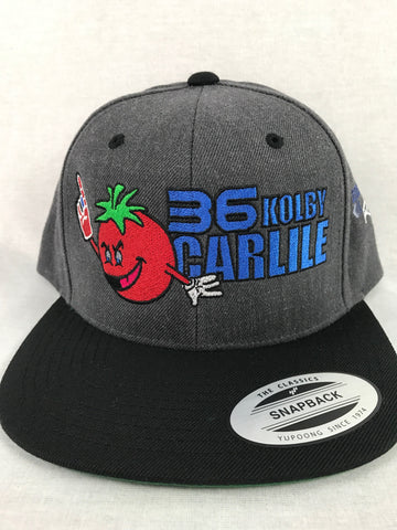 Flying Tomato Snapback Grey/Black