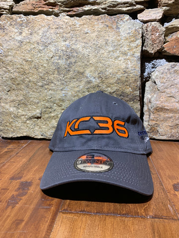 KC36 Grey New Era Strapback