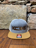 KC36 Snapback Grey/ Gold