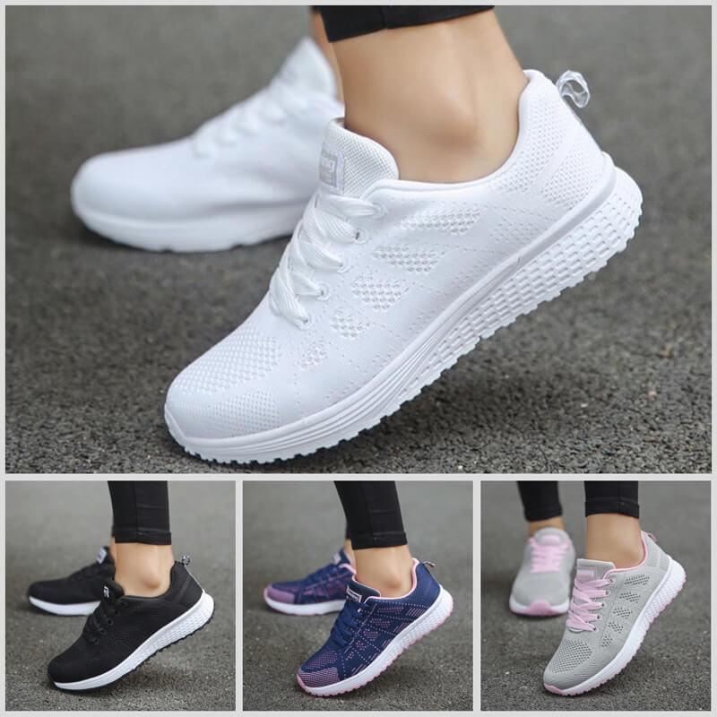 Women's Shoes Fashion Breathable Sports Shoes Light Running Shoes Casual Shoes