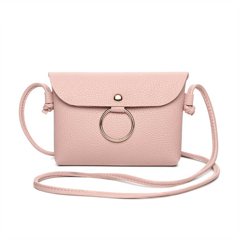 Women PU Leather Small Messenger Bag