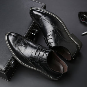 Men Oxford Genuine Leather Dress Shoes