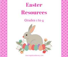 Easter Resources for Grades 1 to 4