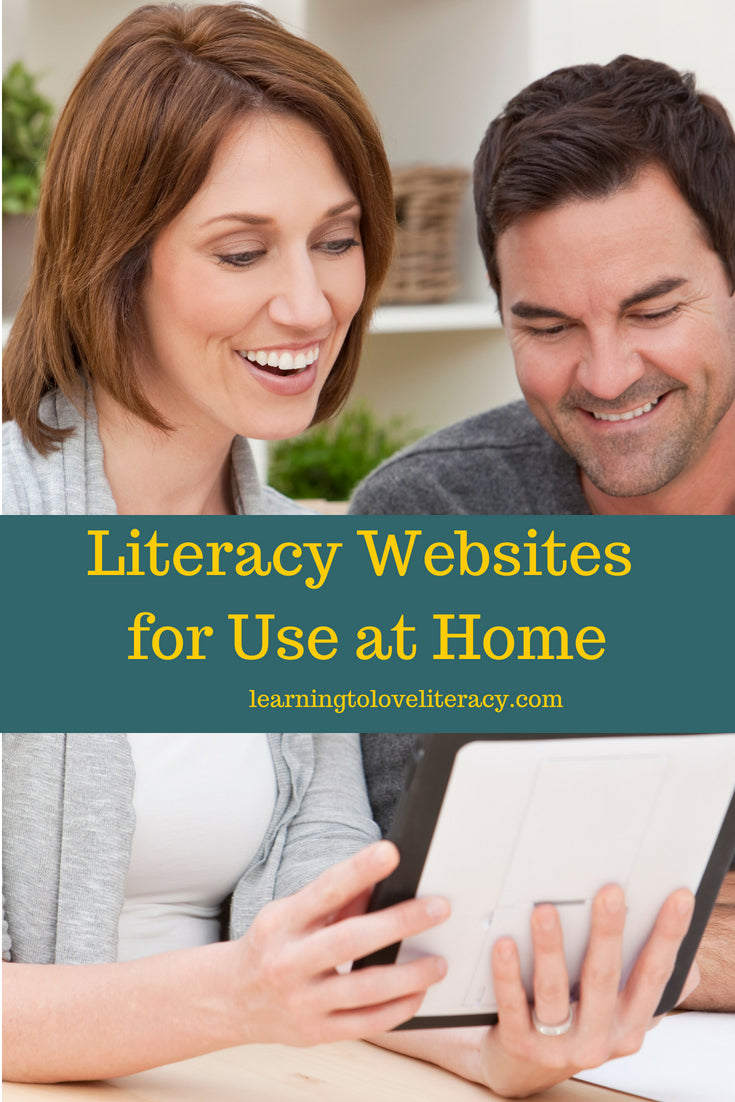 Literacy Websites for Use at Home