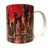 Tasse abstraite rouge
