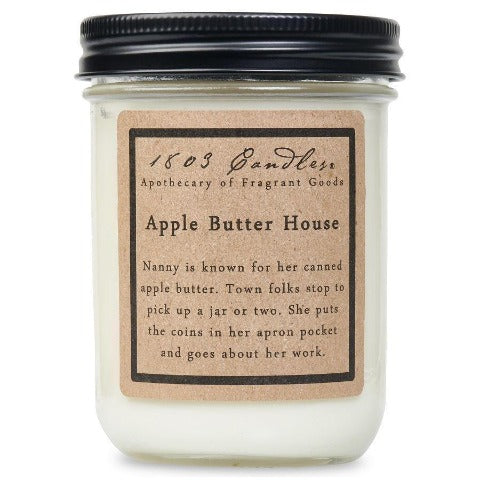 Apple Butter House Jar Candle