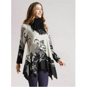 Paisley Tunic with Scarf