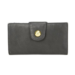 RFID Long Snap Wallet