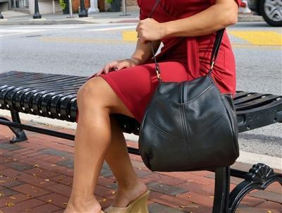 Teardrop Leather Handbag