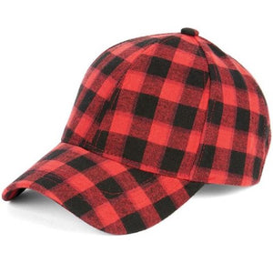Buffalo Checkered Baseball Hat