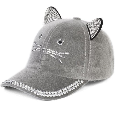 Fancy Feline Baseball Hat