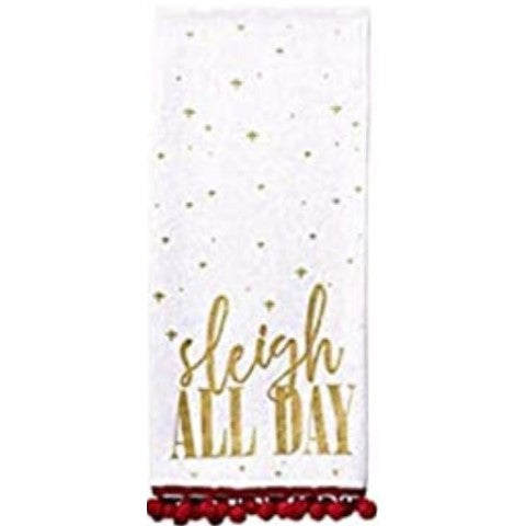 Sleigh All Day Dish Towel
