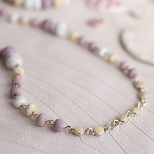 Summer Sand 2-Length Beaded Necklace