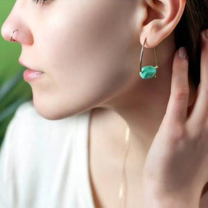 Montego Bay Triangle Earrings
