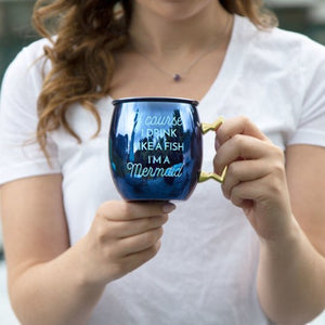 Mermaid Moscow Mule Mug