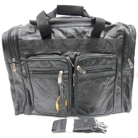 Cowhide Leather Duffel Bag