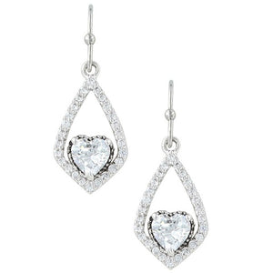 Swinging Heart Earrings