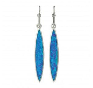Marquis Opal Earrings