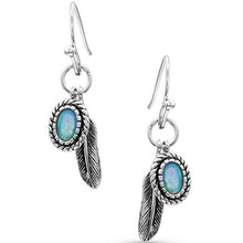 Wishing On Hope Opal Earrings