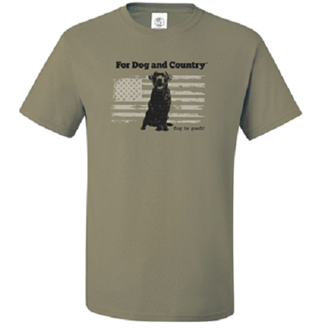 For Dog and Country T-Shirt