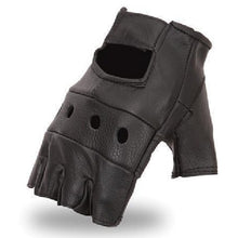 Finger-less Leather Gloves