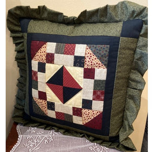 Large Patchwork Pillows