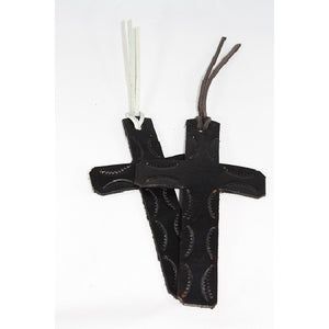 Leather Cross Bookmark