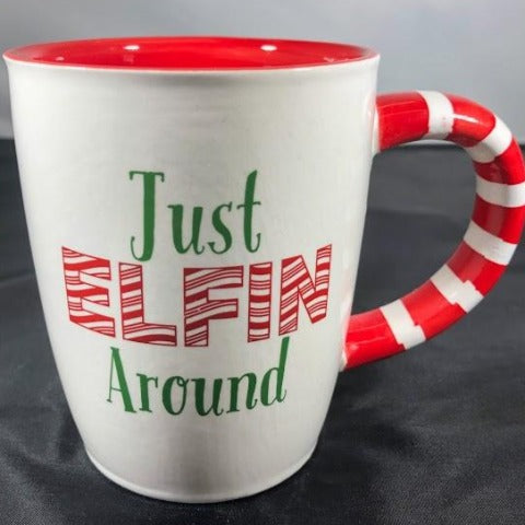 Just Elfin Around Mug
