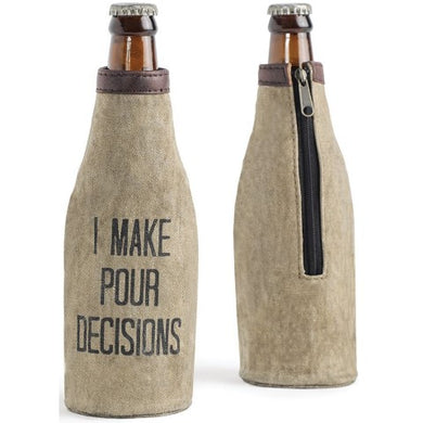 Pour Decisions Bottle Cover