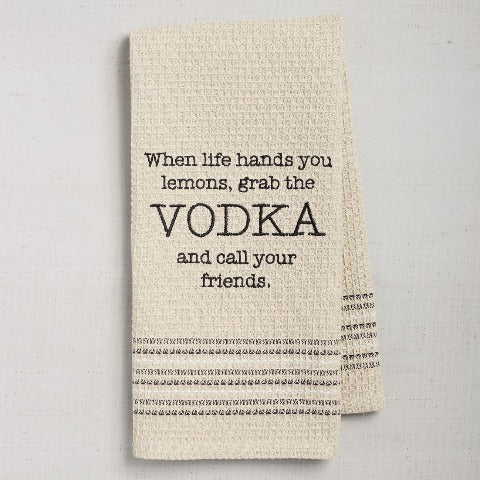 Vodka Towel