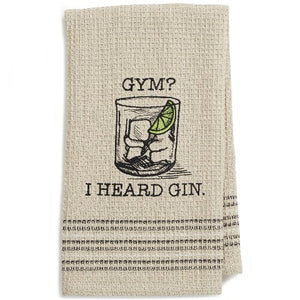 Gym? Dishtowel