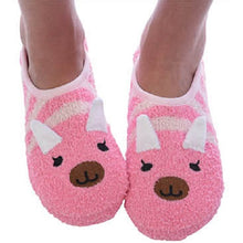Mary Jane Animal Slippers