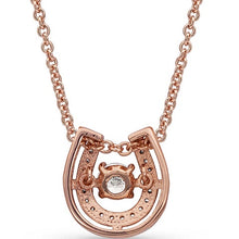 Rose Gold Horseshoe Necklace