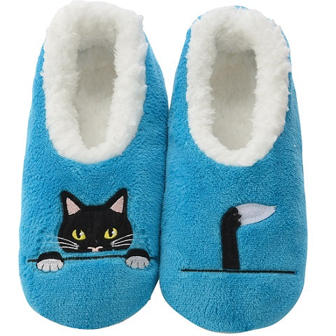 Peek-A-Boo Cat Slippers