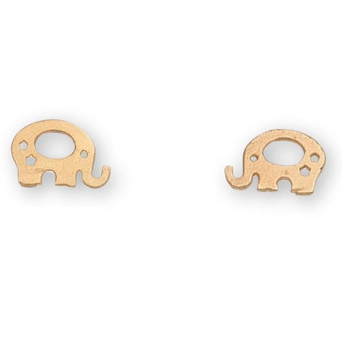 Elephant Stud Bud Earrings