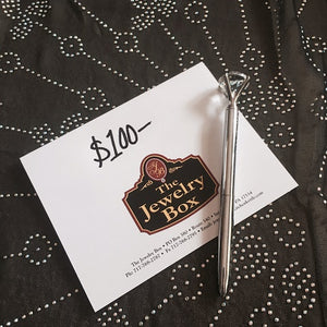 The Jewelry Box Promo Gift Certificate