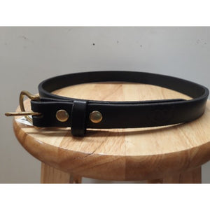"1"" Harness Leather Belt"