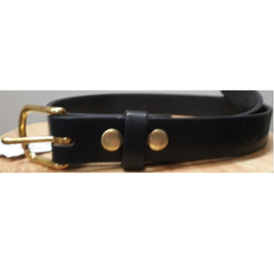 "1.25"" Harness Leather Belt"